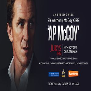 An Evening with AP McCoy (Sir Anthony McCoy OBE)