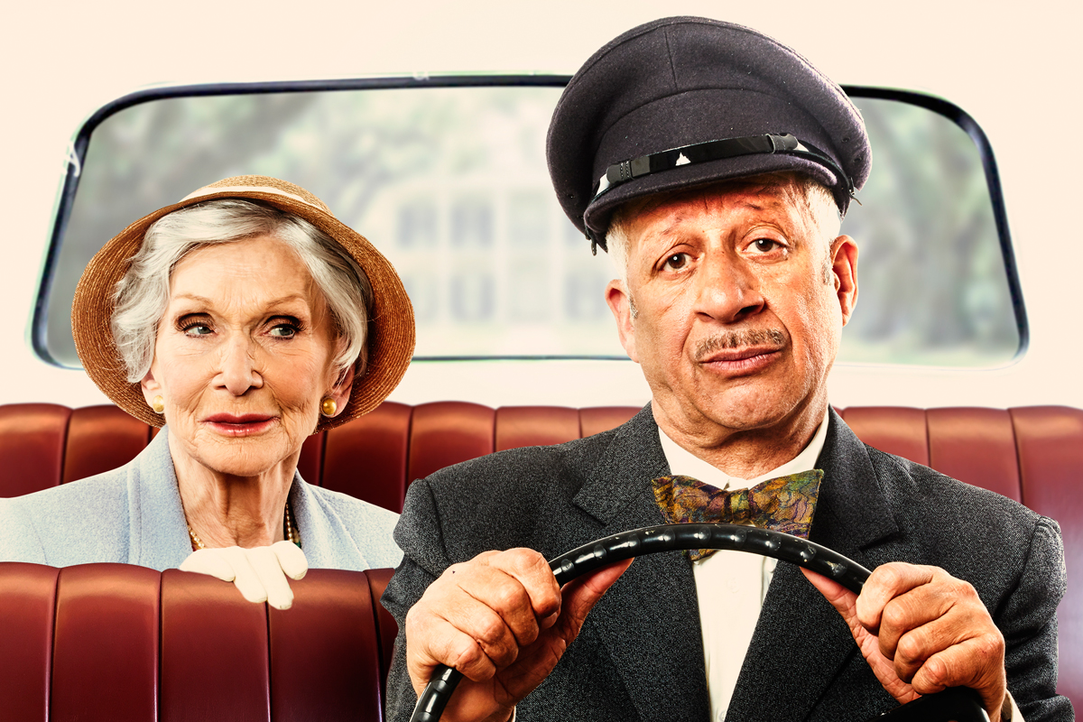 Dame Siân Phillips and Derek Griffiths star in Driving Miss Daisy