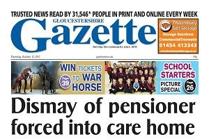 This week's Gloucestershire edition front page