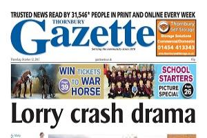 This week's Thornbury edition front page