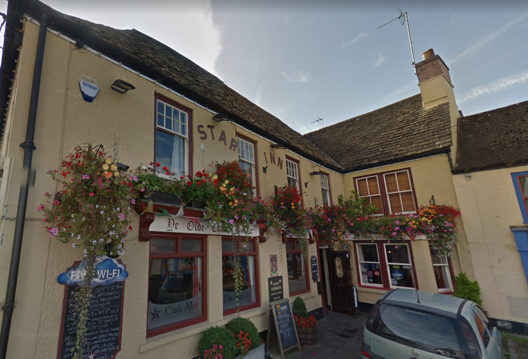 Wickwar Wessex Pub Company's The Star Inn in Wotton-under-Edge. Photo: Google Streetview