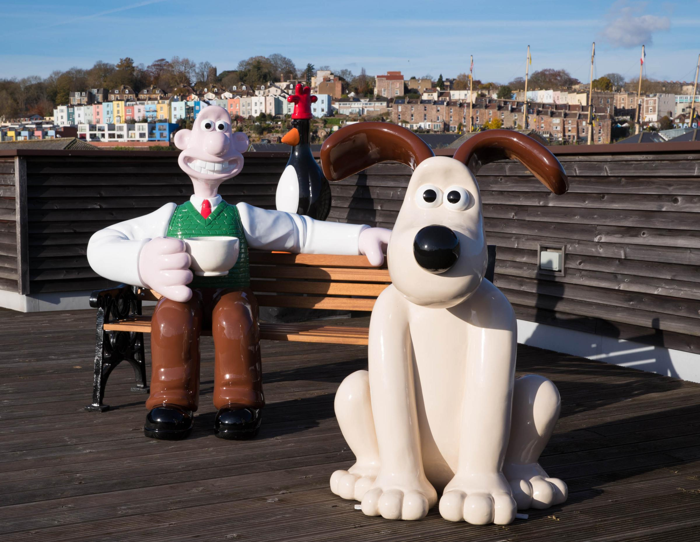 Engineering giant Renishaw to design statue for Wallace and Gromit Grand Appeal trail