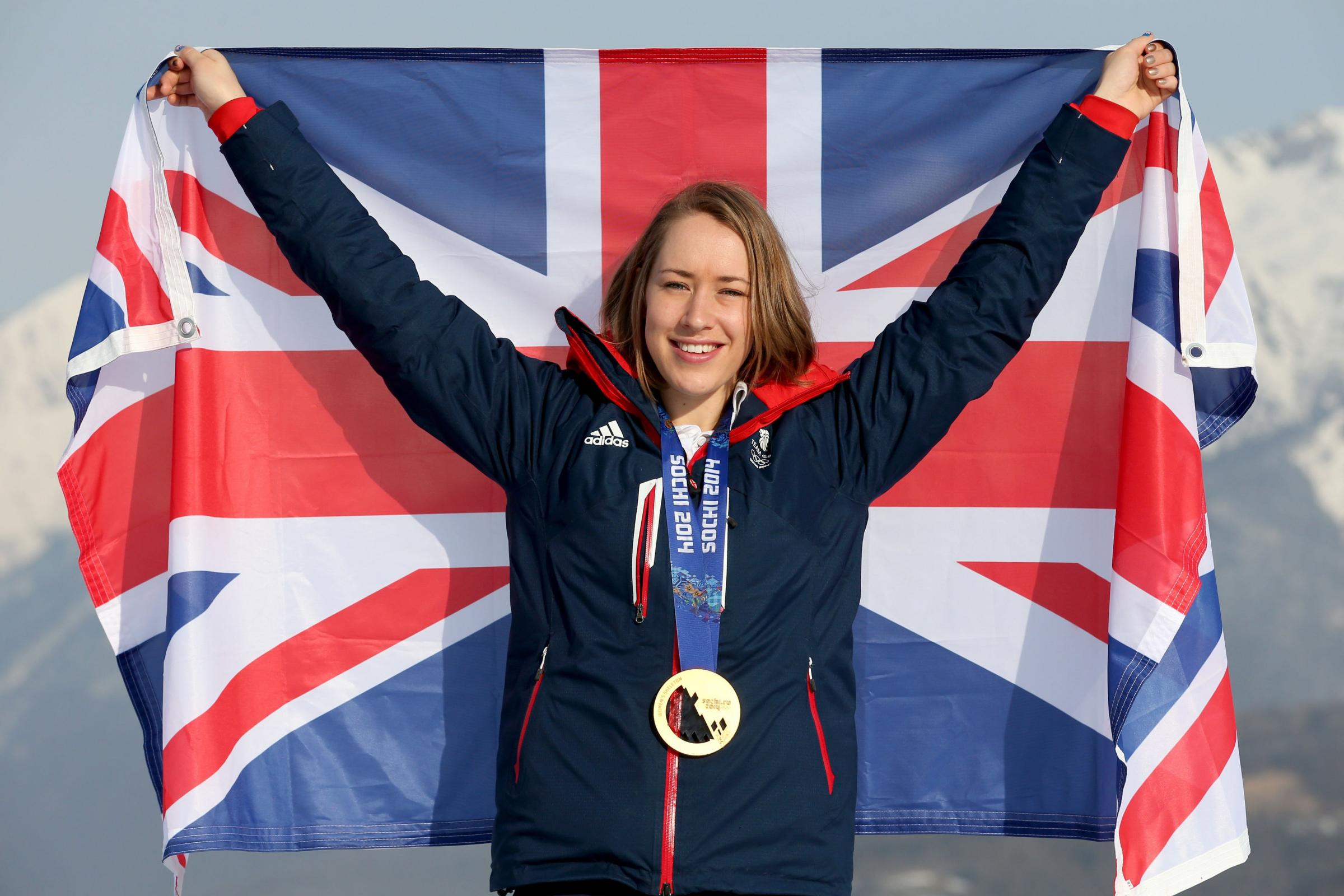 University of Gloucestershire graduate Lizzy Yarnold named as Team GB flagbearer