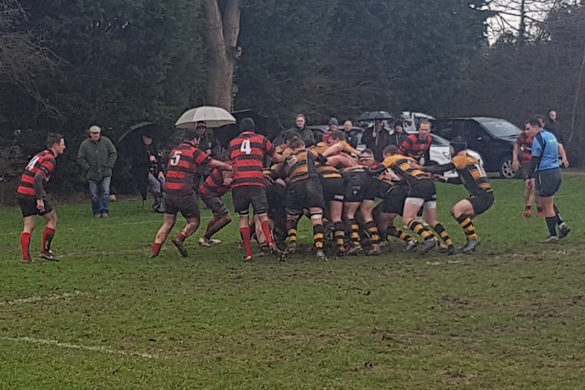 Thornbury's pack drive Cullompton over the line on Saturday