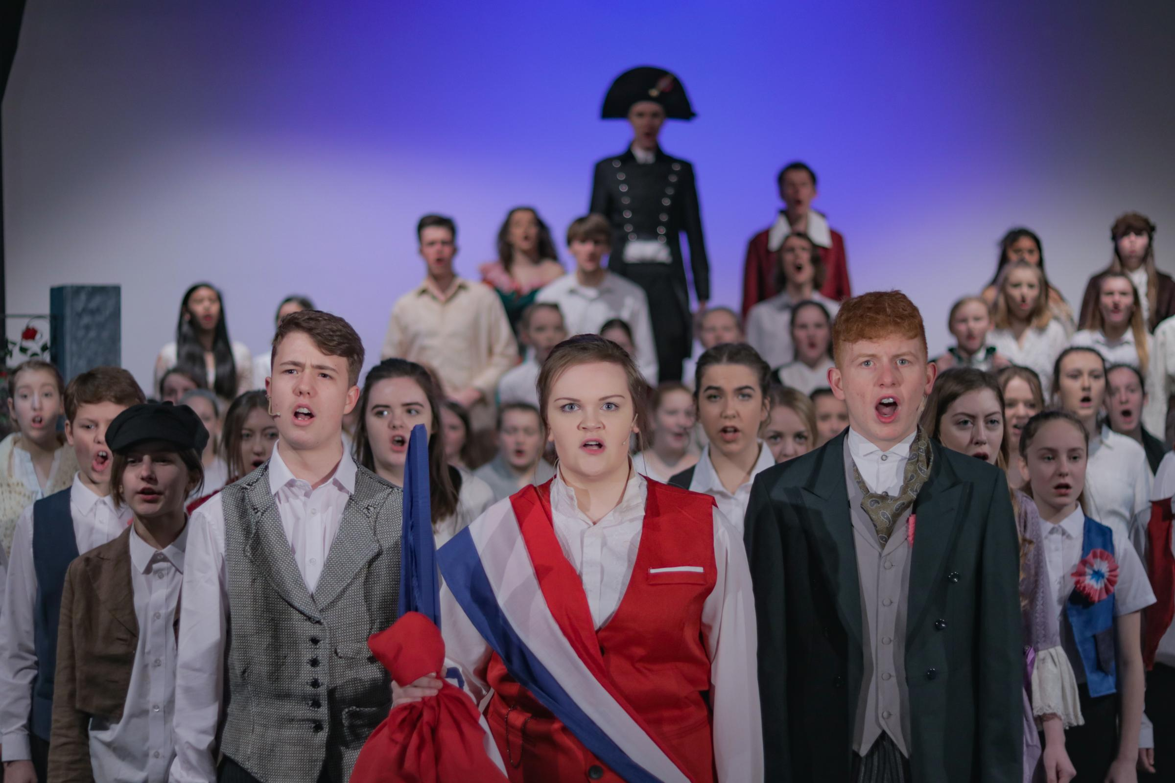 Sixth former amaze audiences with 'breathtaking' and 'professional' performance of Les Mis