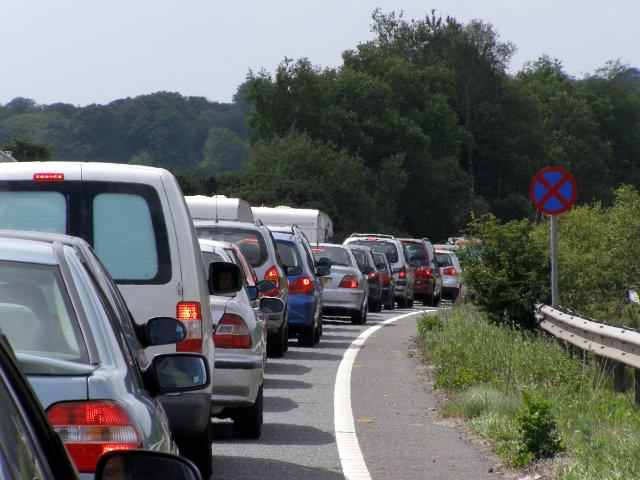 Traffic starting to build in Gloucestershire, South Gloucestershire and the Cotswolds ahead of rush hour