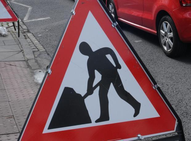 Planned roadworks in your area this week