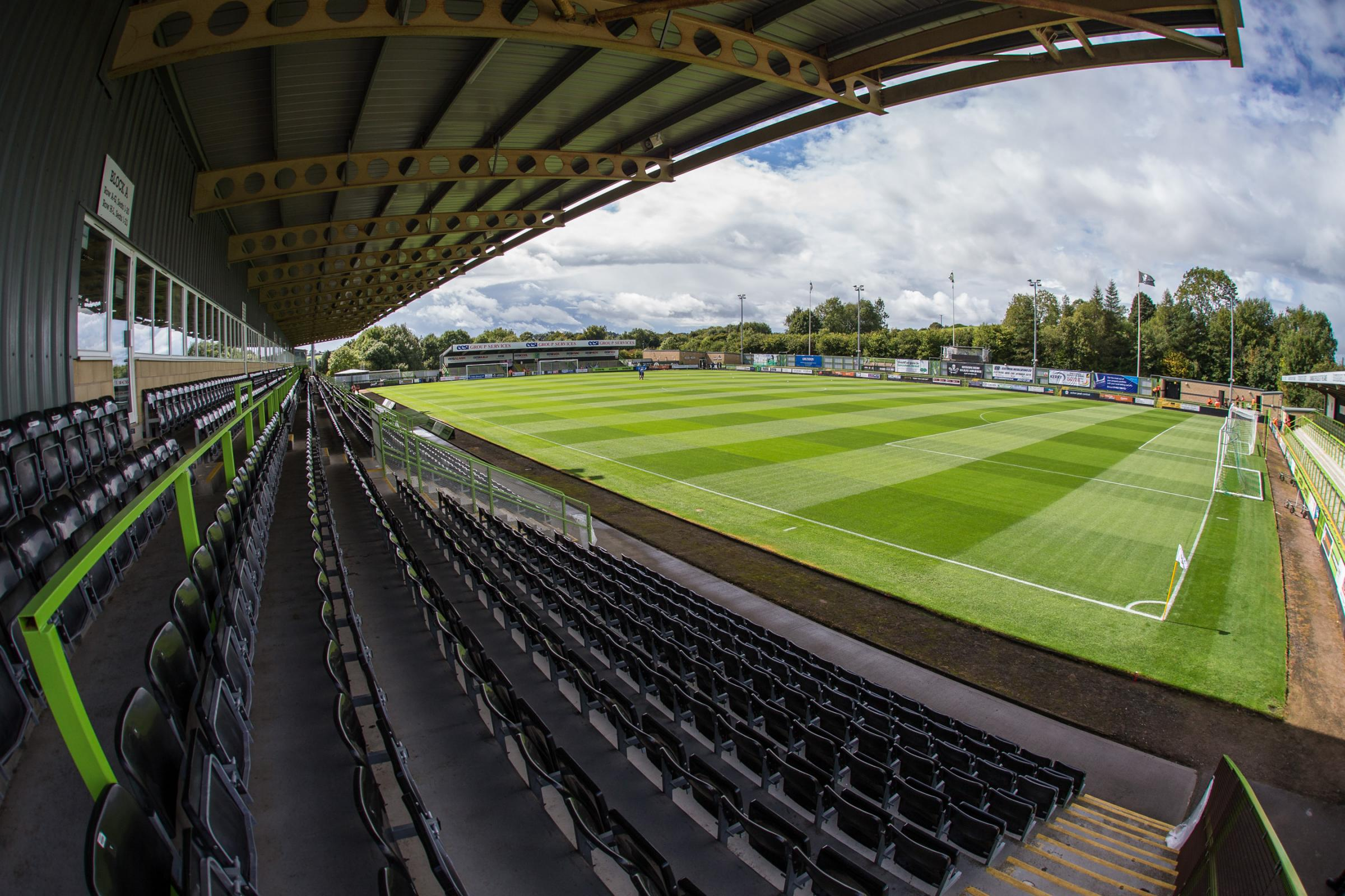 The New Lawn, home of Forest Green Rovers during the EFL Sky Bet League 2 match between Forest Green Rovers and Exeter City at the New Lawn, Forest Green, United Kingdom on 9 September 2017. Photo by Shane Healey.