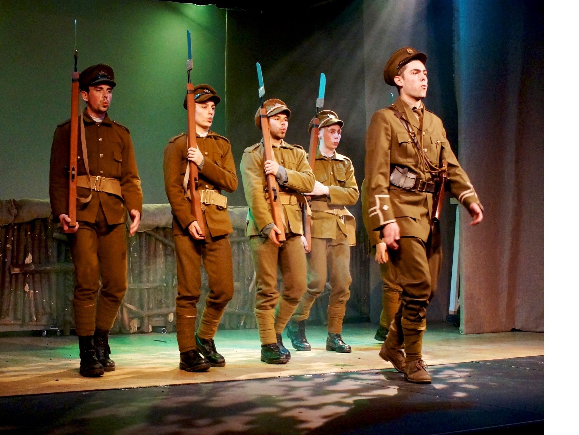 Sodbury Players in Private Peaceful