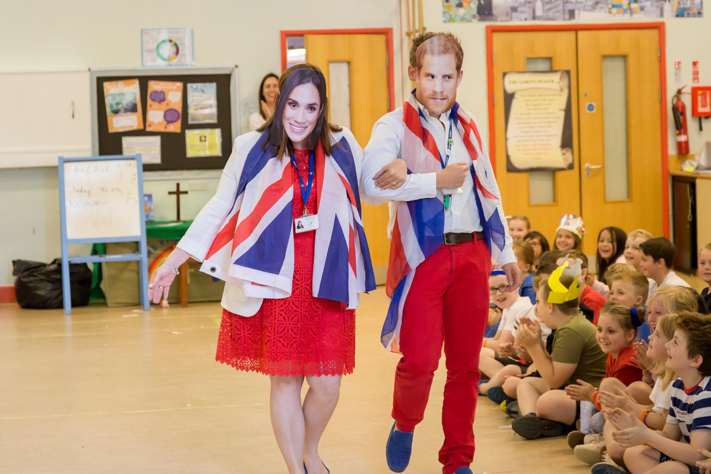 Royal wedding inspires 'best school day ever' at a Coalpit Heath primary