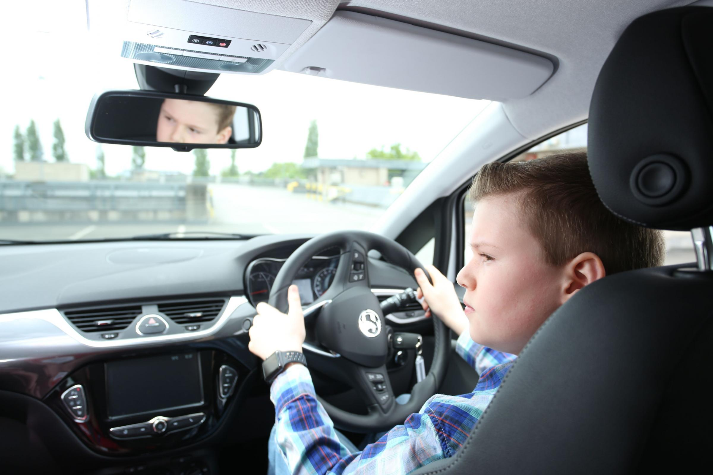 Drivers as young as ten are getting the motorway experience in Moreton in Marsh