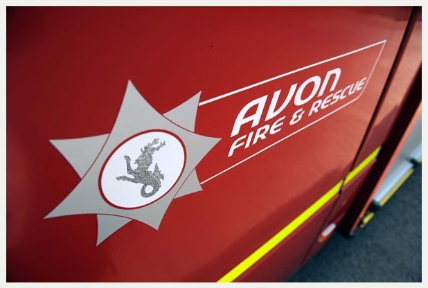 close up details of Avon fire and rescue service logos....fire engine ....Photographer: Gavin Crilly/Staff...Date: 29/04/2011..Reporter: on spec..Copyright: Bristol News & Media. .......