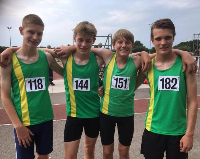 Yate and District athletes