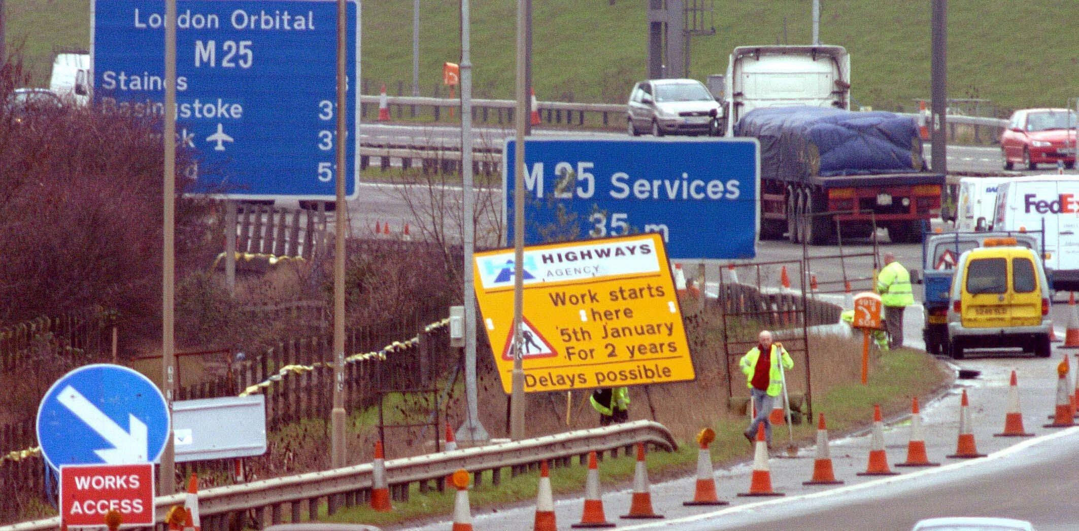 Drivers could be allowed to travel at higher speeds through motorway roadworks depending on the day of the week