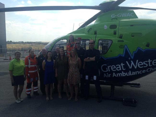 Great Western Air Ambulance Charity is in need of funds to continue operating.