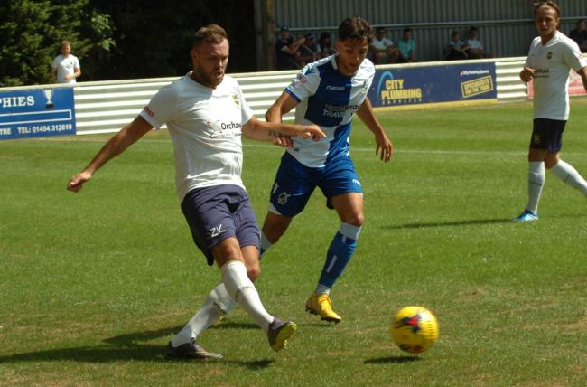 Yate opened with a heavy defeat to Bristol Rovers. Picture: Steve Richards