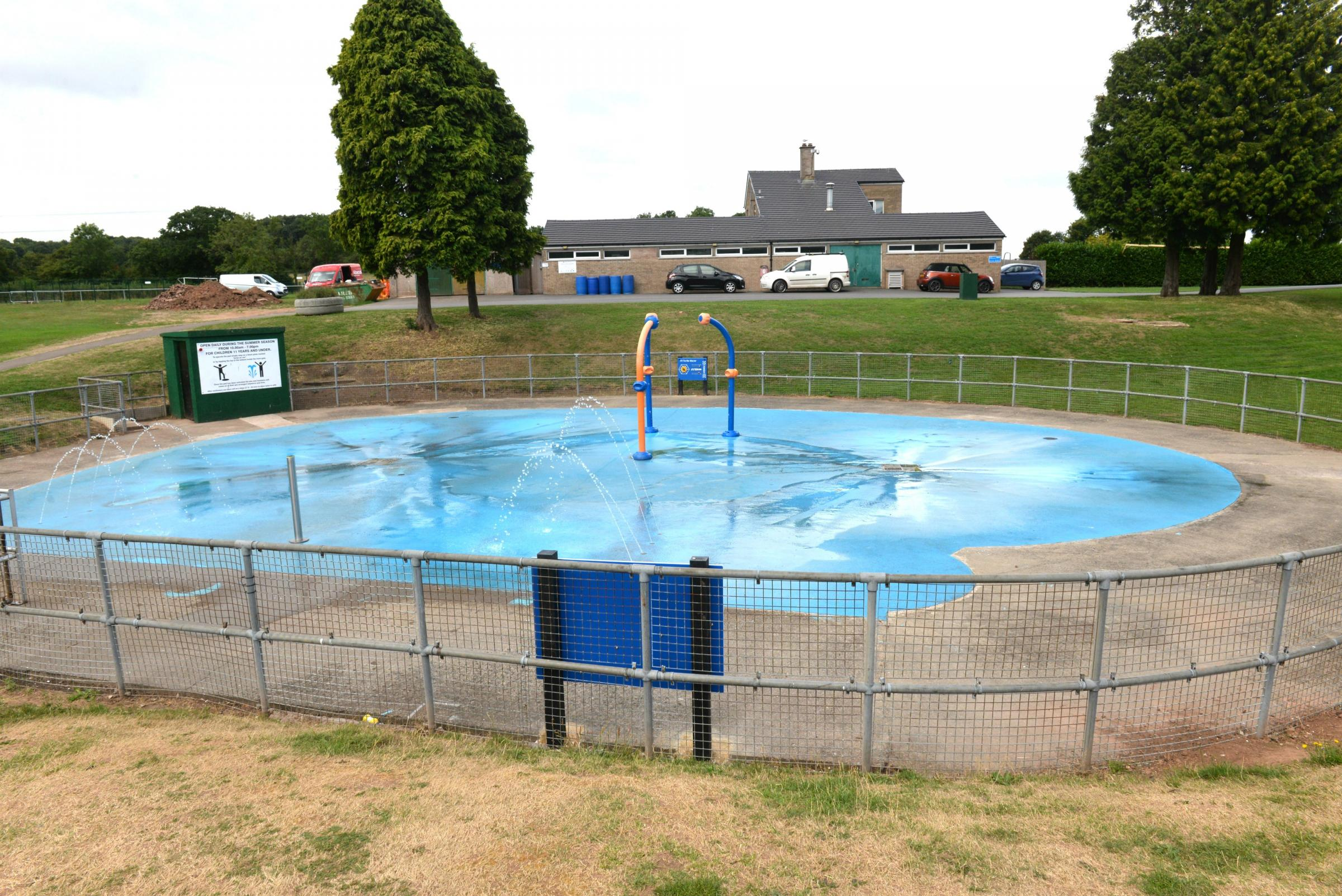 The Splash Pad on the Mundy Playing Fields in Thornbury has been the subject of much debate. Photo: Steve Richards