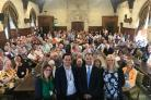 MP Luke Hall invited many residents from Yate to Parliament