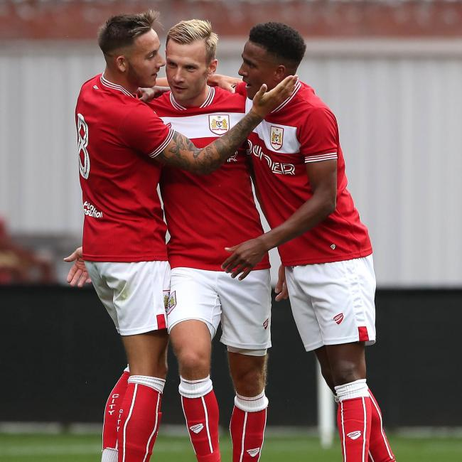 Bristol city to hold meet and greet in cabot circus gazette series josh brownhill left will be meeting fans along with matty taylor callum o m4hsunfo