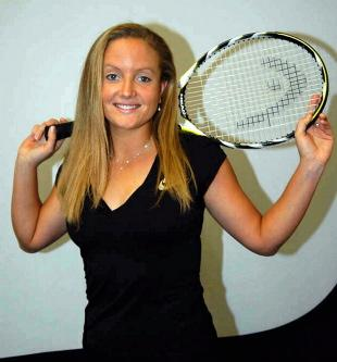 Singles success: Emily Webley-Smith