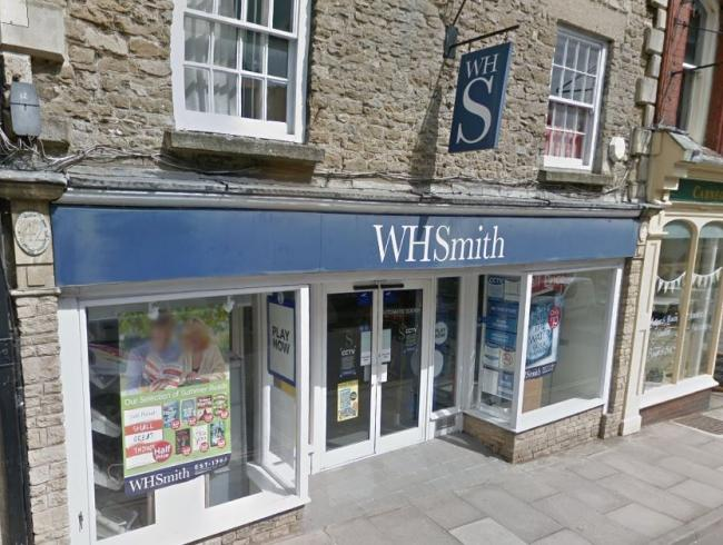 WH Smiths in Malmesbury