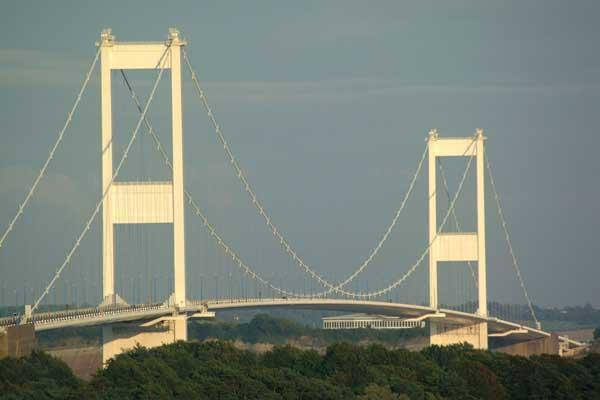 The Severn Bridge will be closed westbound this evening
