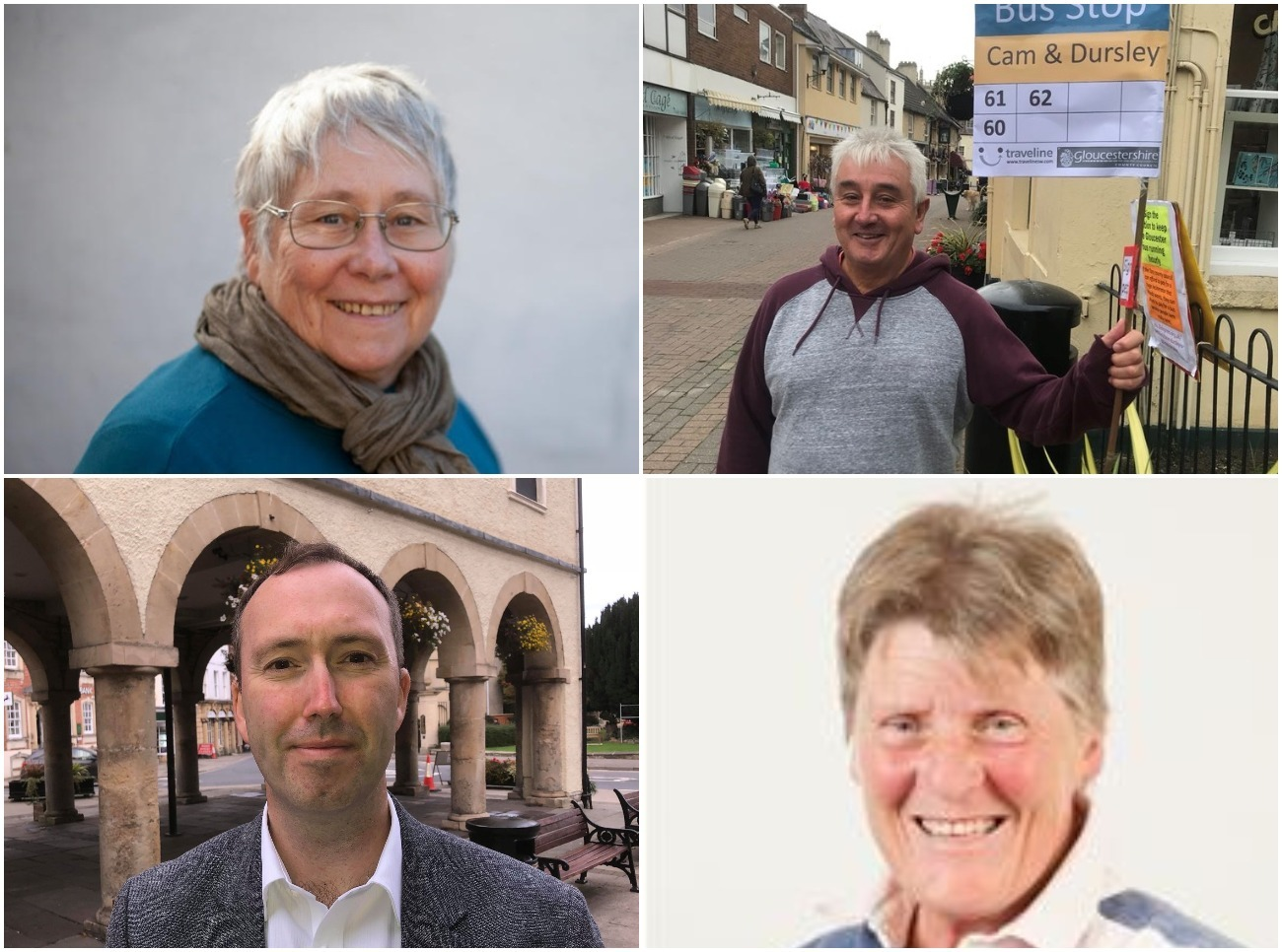 Dursley by-election candidates