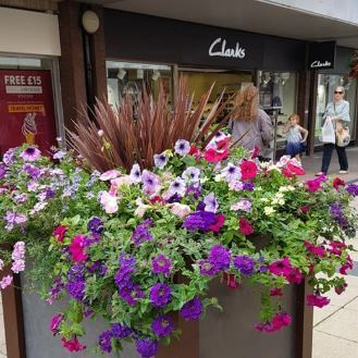 Yate Shopping Centre In Bloom