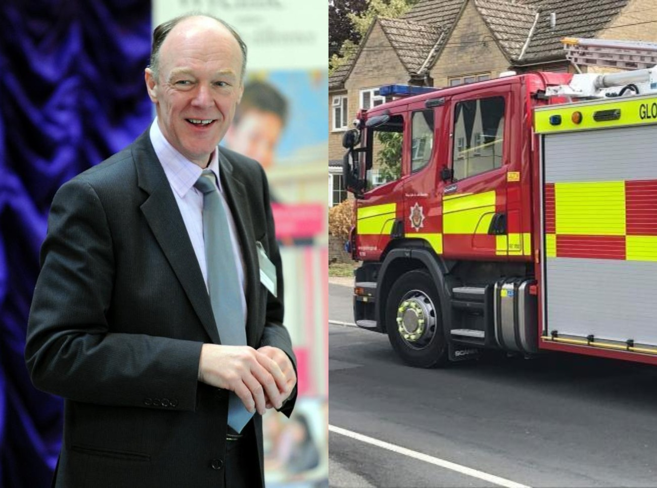 Police chief to examine control of Gloucestershire fire service