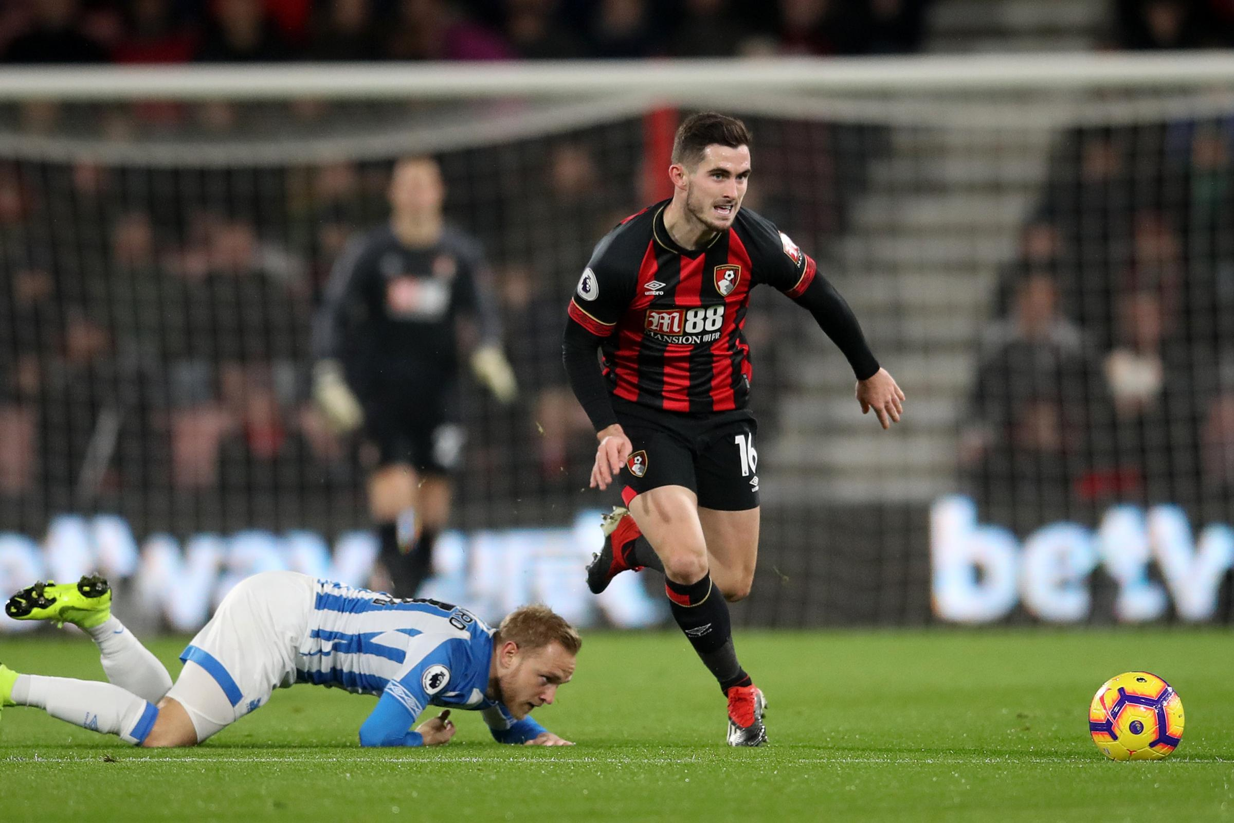 Bournemouth's Lewis Cook (right). (PA)