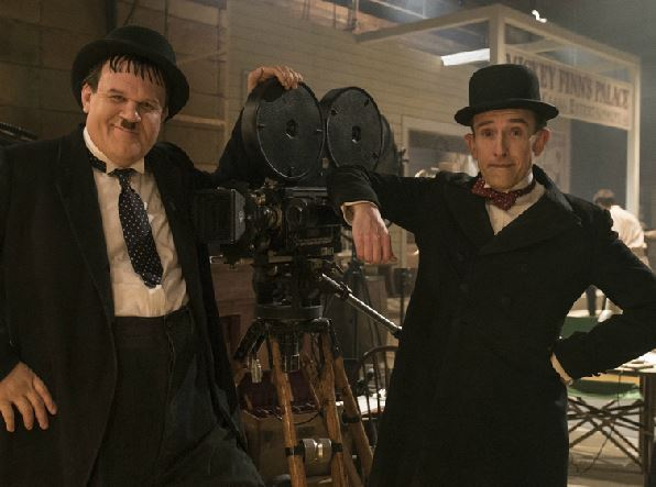 John C Reilly and Steve Coogan in their roles as Laurel and Hardy