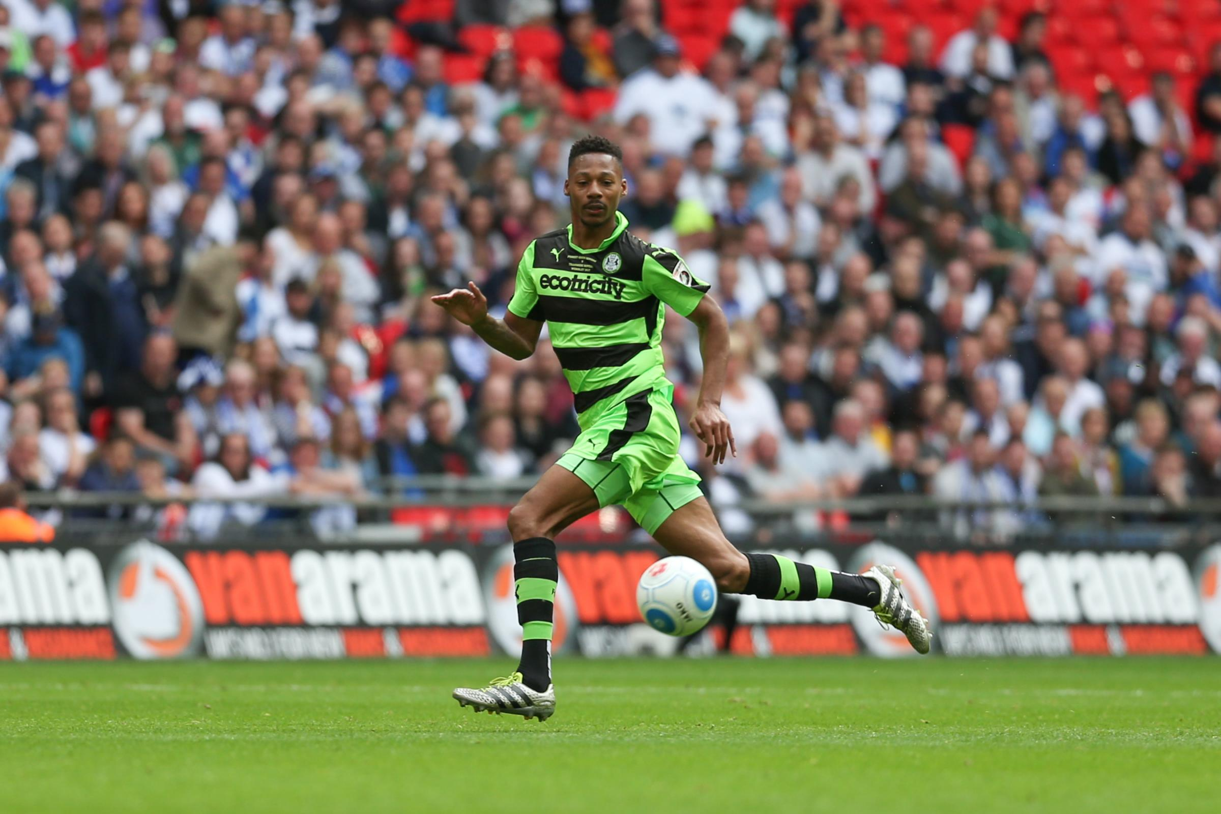 Former Forest Green defender Ethan Pinnock                                                                                Pic: Shane Healey/ Pro Sports