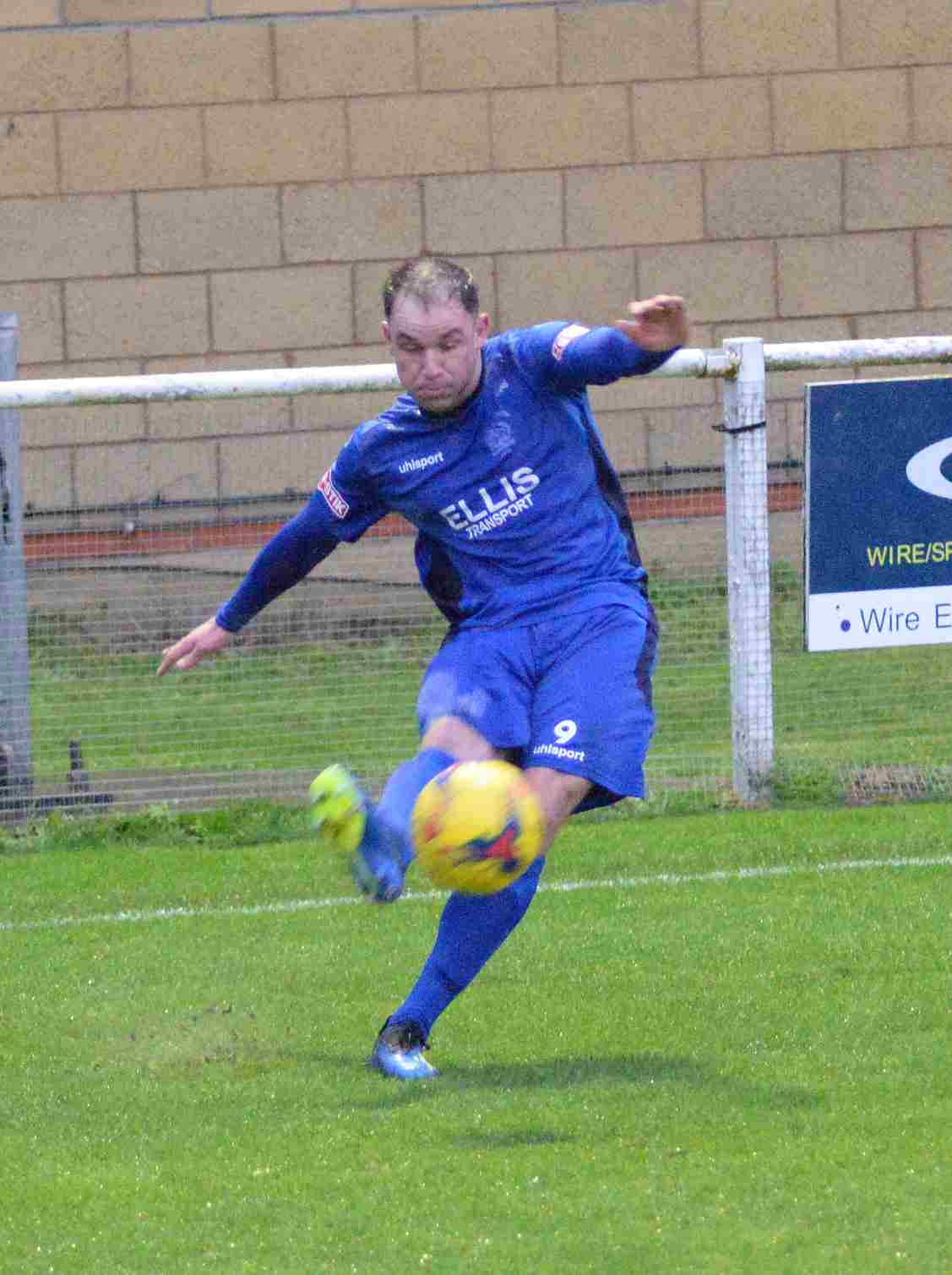 Substitute striker Mark Magee rippled the side netting