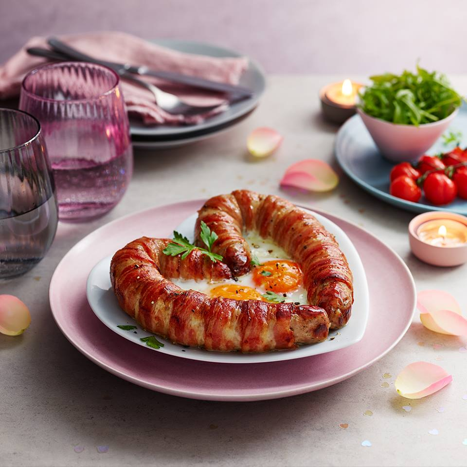 Marks and Spencer is selling a 'love sausage' this Valentine's Day. Pic credit: Marks and Spencer