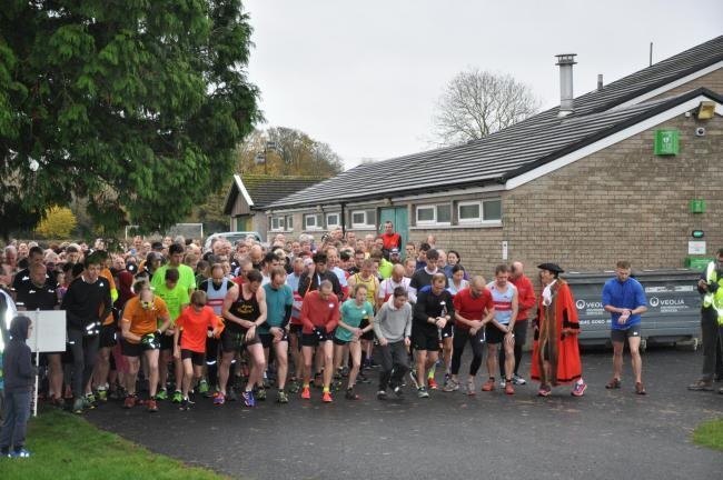 A previous Thornbury parkrun