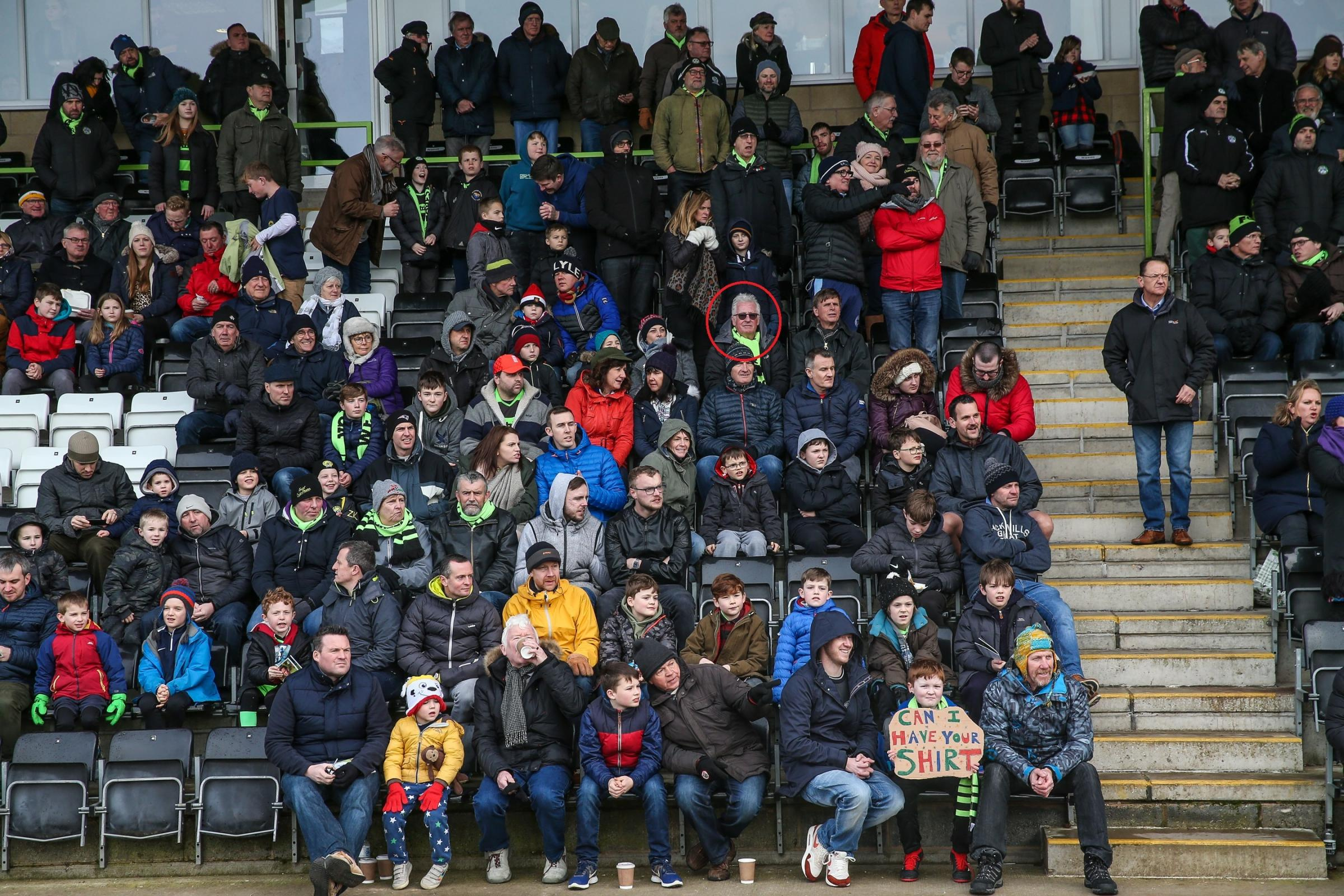 during the EFL Sky Bet League 2 match between Forest Green Rovers and Notts County at the New Lawn, Forest Green, United Kingdom on 9 February 2019.
