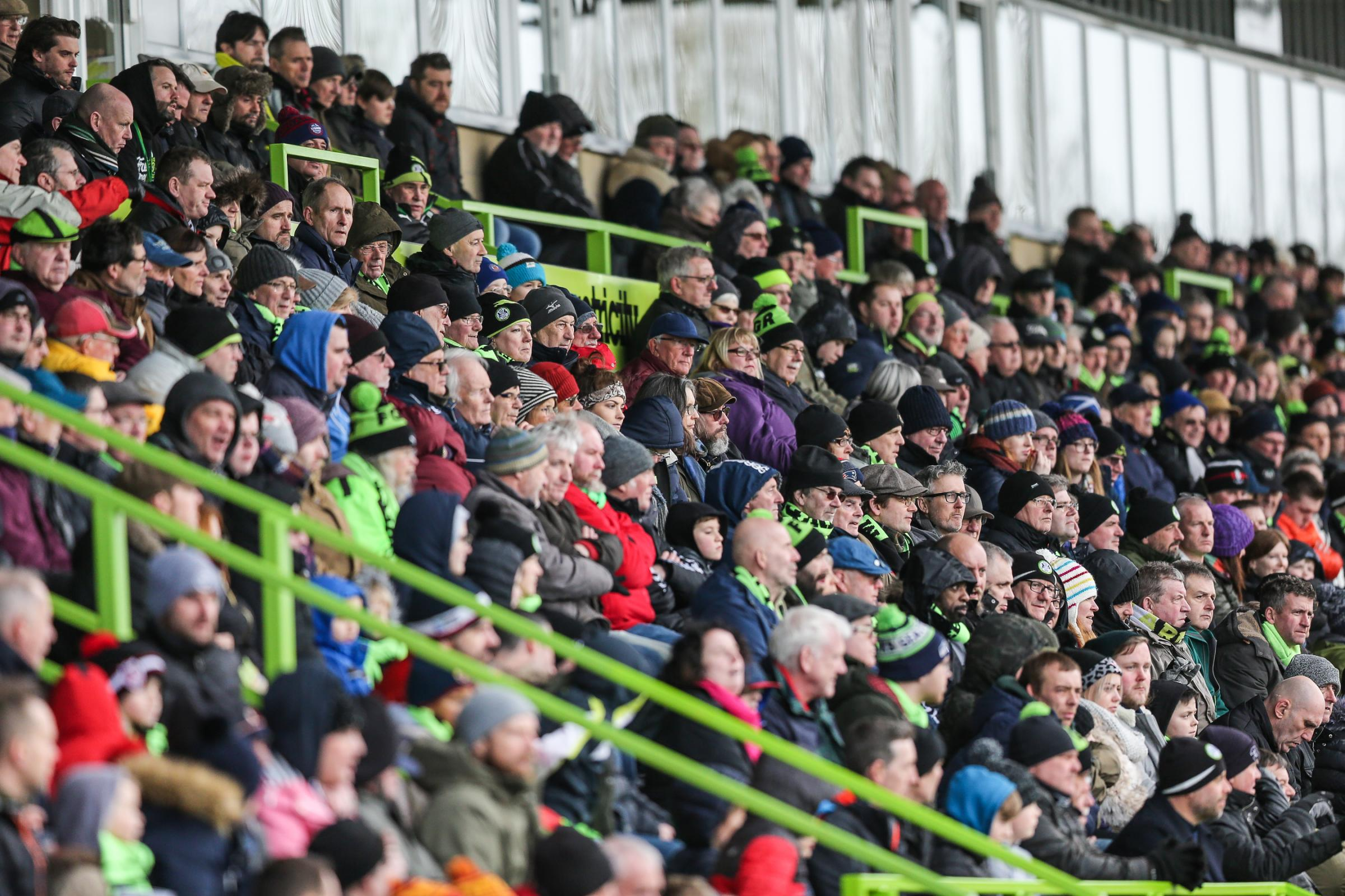 Forest Green freeze season ticket prices