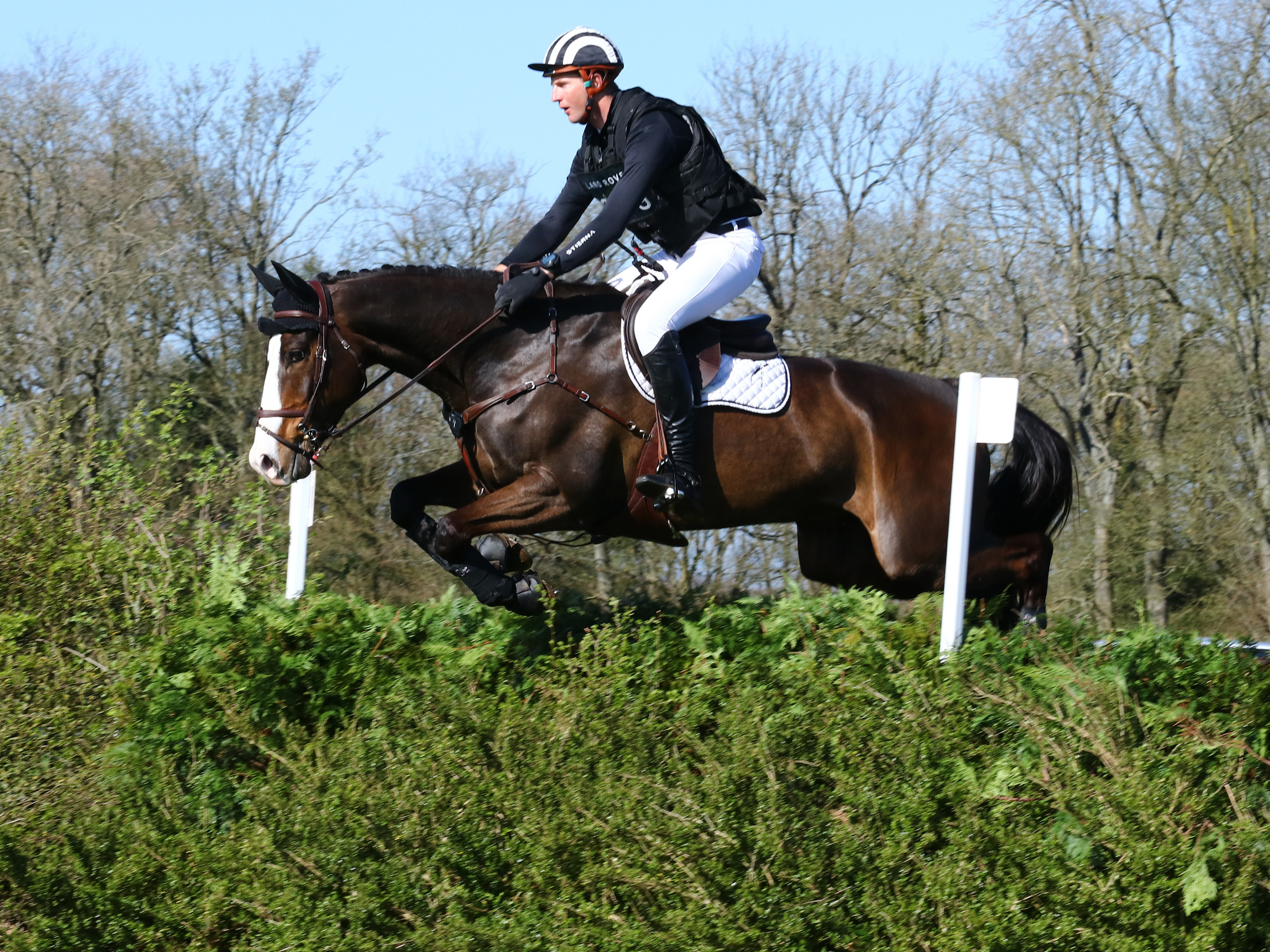 Jesse Campbell, I Spye II, 4th Intermediate, Land Rover Gatcombe Horse Trials, March 2019