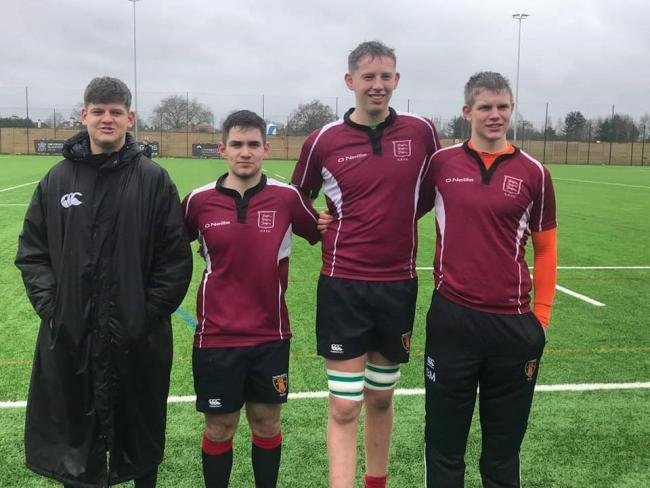 Kieran Sparrow, Ben Hillier, Alex Johnson and Ben Marlow have been selected to play in the forthcoming final county games.