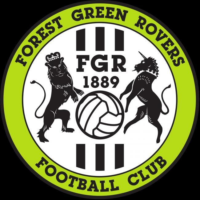 Do Forest Green play football in a library?