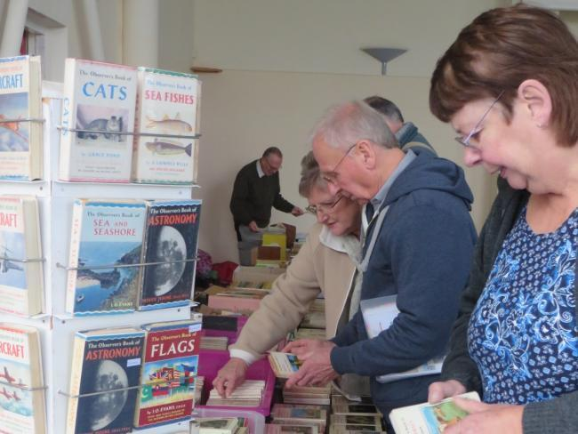 A popular book fair is returning this weekend