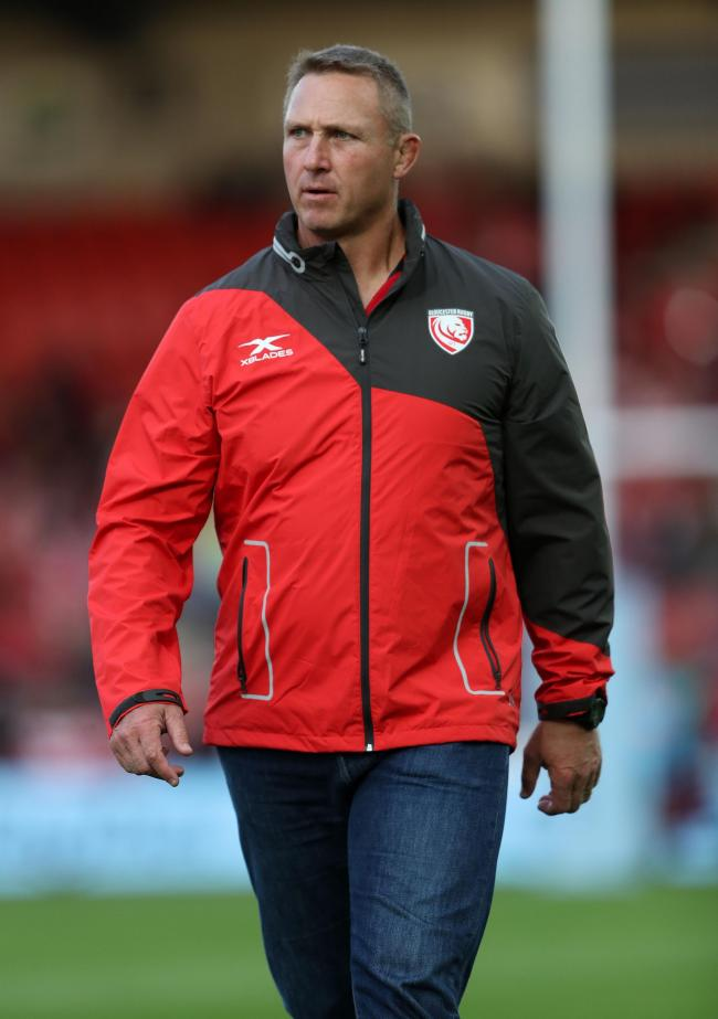 File photo dated 23-08-2018 of Gloucester head coach Johan Ackermann. PRESS ASSOCIATION Photo. Issue date: Friday April 12, 2019. Johan Ackermann insists Gloucester's quest for a third-place finish in the Gallagher Premiership trumps their west countr