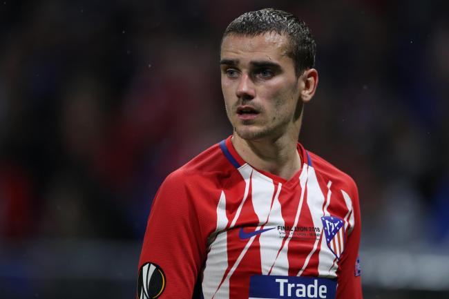 Antoine Griezmann won the 2018 Europa League with Atletico Madrid.
