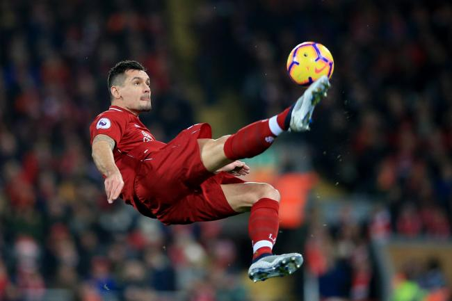 Liverpool defender Dejan Lovren is attracting interest from AC Milan