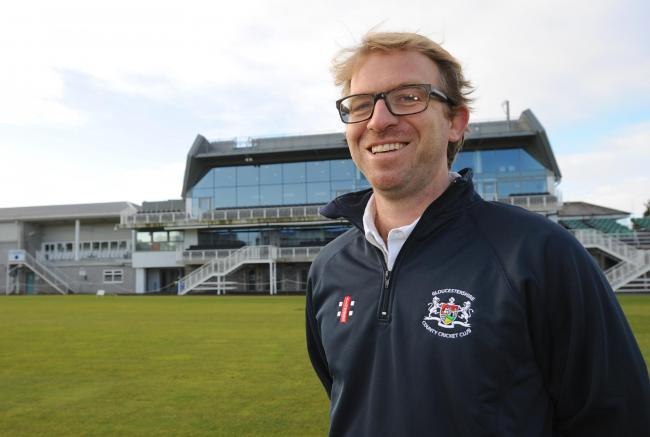New Gloucestershire CCC Head Coach Richard Dawson at the County Ground today , Bristol 30/1/15 Pic by Martin Bennett