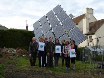 Members of the Wotton Community Climate Action Group